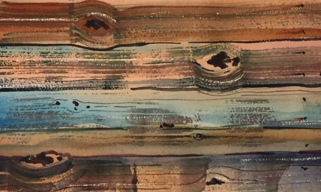 Creating Wood Texture In Watercolor Painting