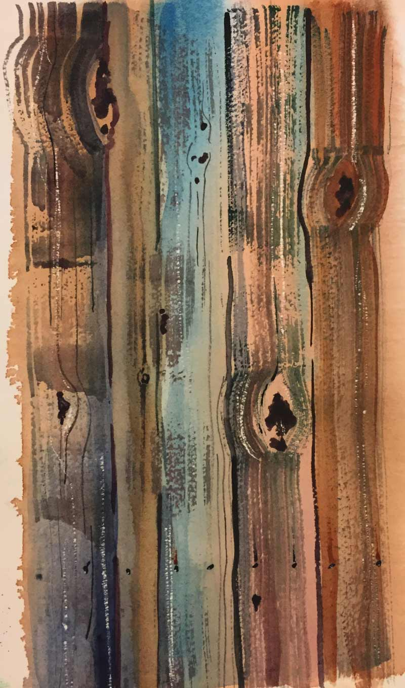 Creating Wood Texture In Watercolor Painting PJ Cook Artist Studio