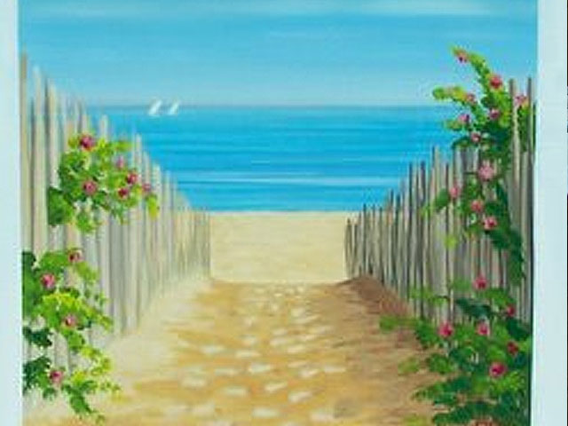 Latest Beach Painting Finished