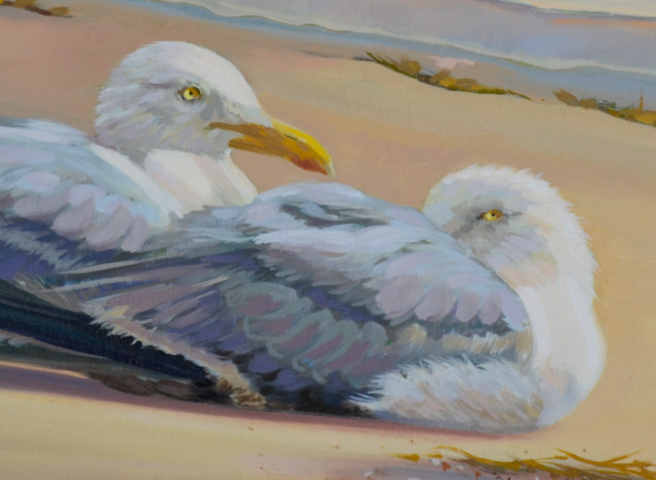 """Oil Painting """"After the Storm"""""""