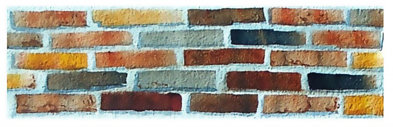 how to paint brick texture in watercolor