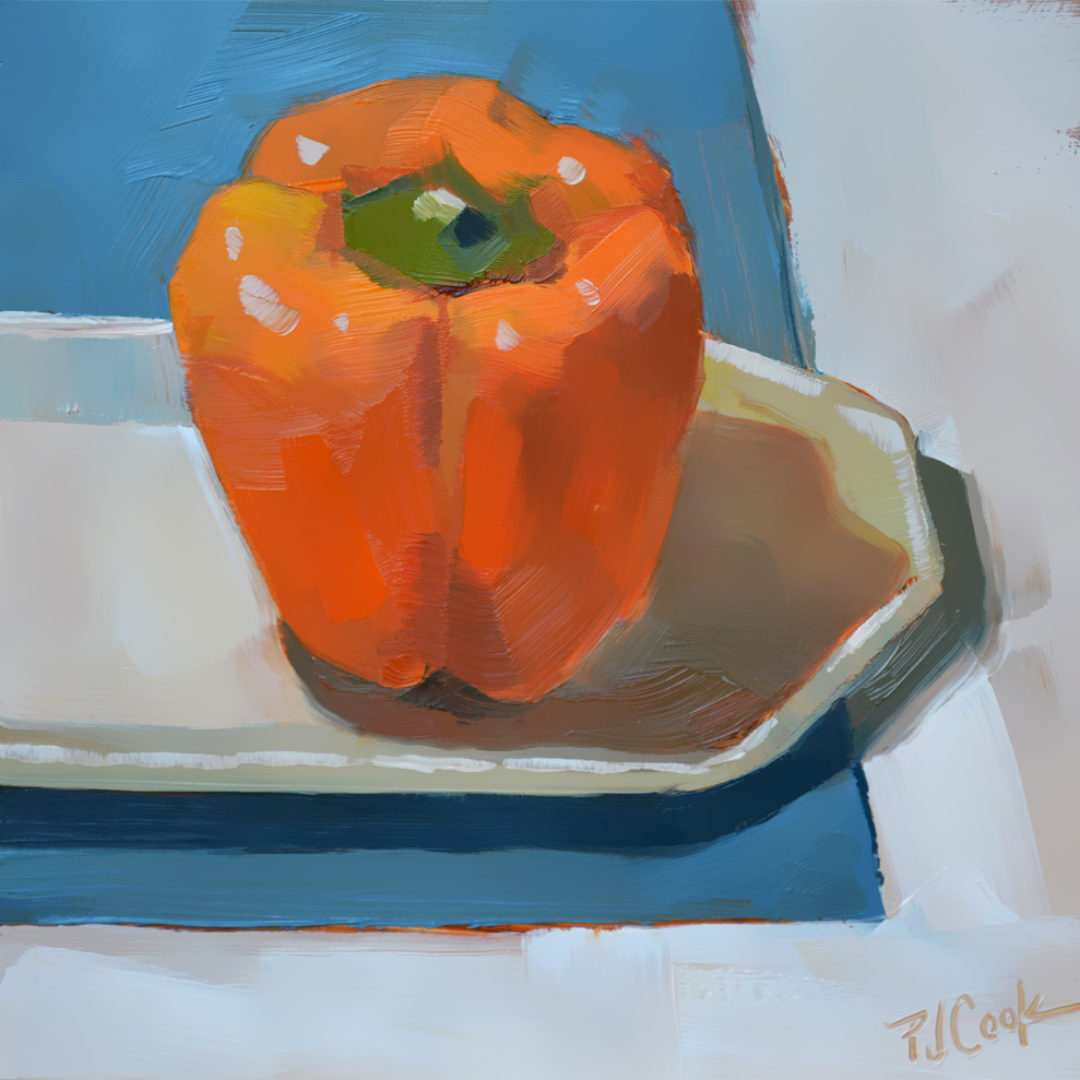 """Bell Pepper"" Still Life"