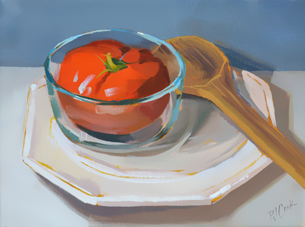 """Tomato Soup"" Still Life"
