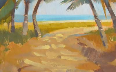 Palms Beach Path