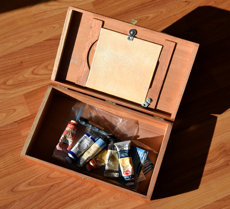 oil paints and supplies for plein air painting
