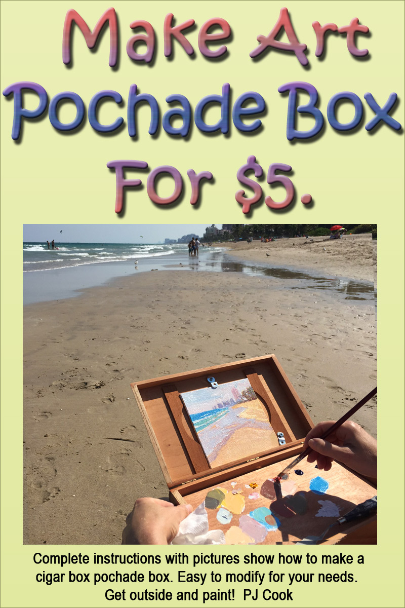 Make Pochade Box for $5