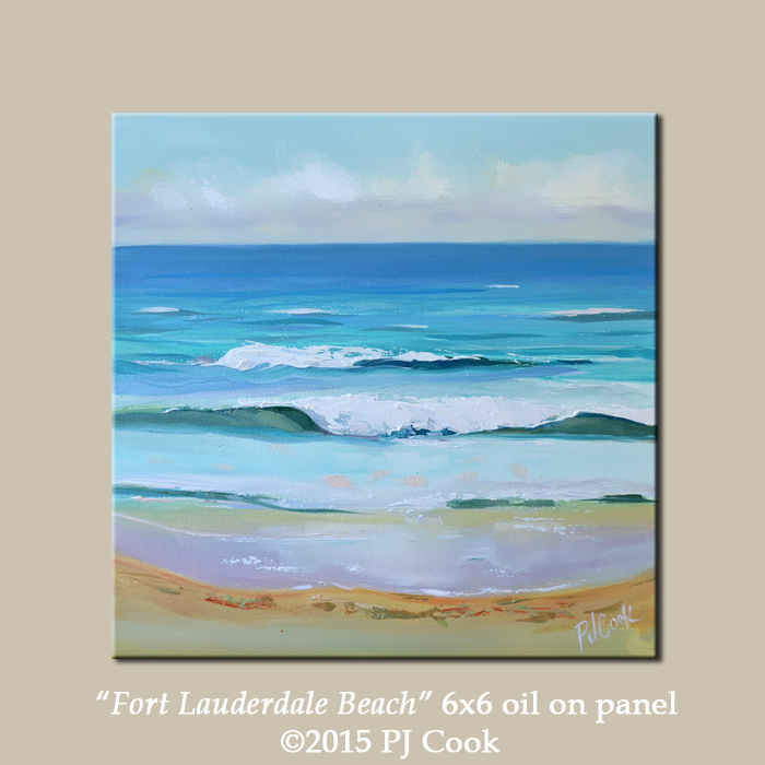 The Zen of Painting At the Beach