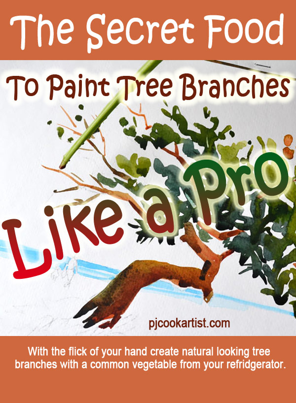 The Secret Food to Paint Tree Branches Like a Pro