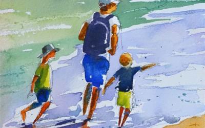 Quick Figures In Watercolor