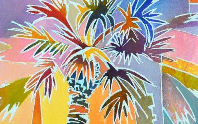 Firework Palm Tree
