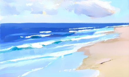 Surf Beachscape Work In Progress