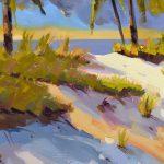Beach Dune Energy Oil Painting