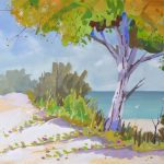 Coastal Colors Seascape Painting