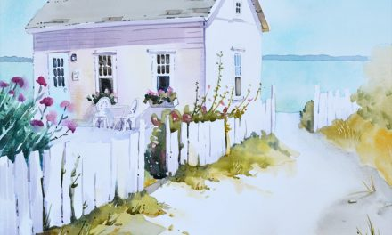 Island Retreat Painting