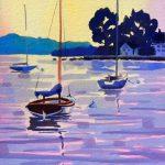 Paint a Luminous Sunset