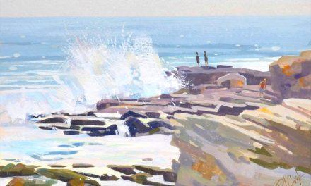 Ocean Bliss Wave Painting