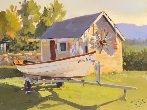 oil painting step by step demo by PJ Cook Artist.